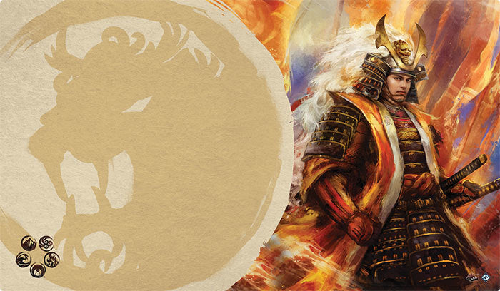 L5R Playmat: Right Hand of the Emperor (Lion)