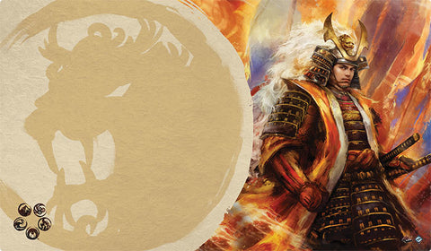 L5R LCG - Playmat - Right Hand of the Emperor (Lion)