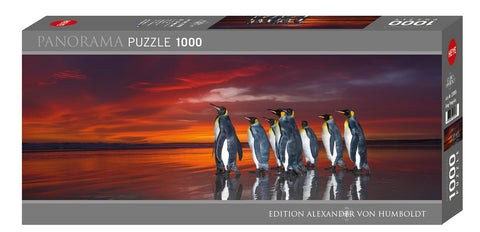 Jigsaw Puzzle: HEYE - AvH King Penguins (1000 Pieces)