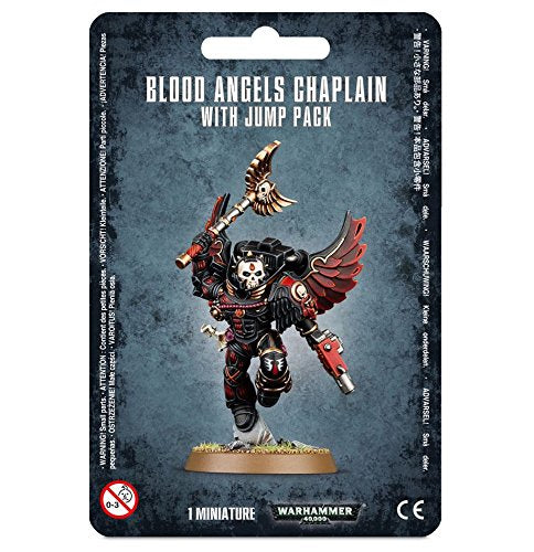 WH 40K: Blood Angels - Chaplain with Jump Pack