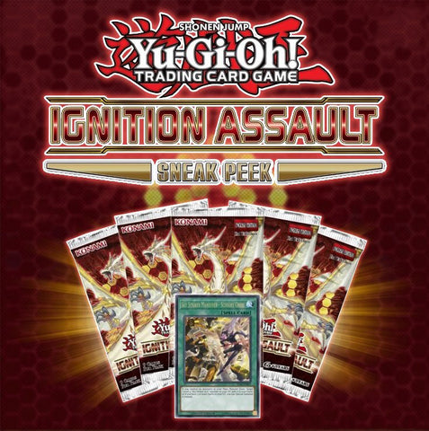 Yu-Gi-Oh! TCG: Ignition Assault Sneak Peek Kit