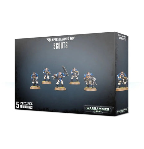 WH 40K: Space Marines - Scouts