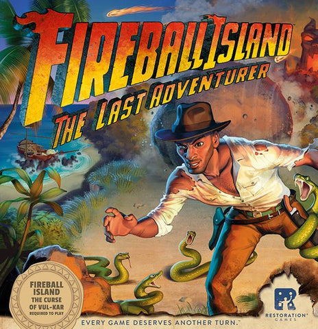 Fireball Island: The Curse of Vul Kar - Last Adventurer