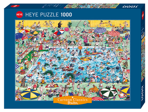 Jigsaw Puzzle: HEYE - Blachon Cool Down! (1000 Pieces)