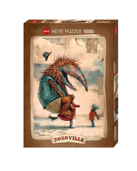 Jigsaw Puzzle: HEYE - Spring Time (1000 Pieces)
