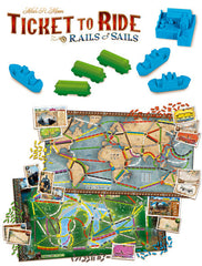 Ticket to Ride: Rails & Sails - Boardgame Space - 2