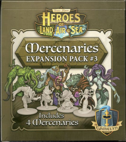 Heroes of Land, Air, and Sea - Mercenary Pack 03
