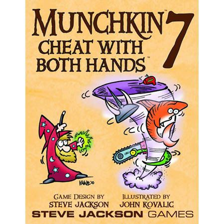Munchkin: Vol 07 - Cheat With Both Hands