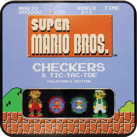 Checkers, Tic-Tac-Toe: The OP - Super Mario Classic