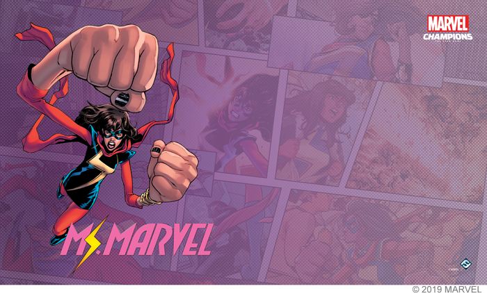 Marvel LCG - Playmat - Ms. Marvel