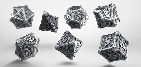 Dice Set: Mythical Metal