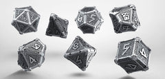 Dice: Q Workshop - Mythical - Poly Set, Metal Set (x7)