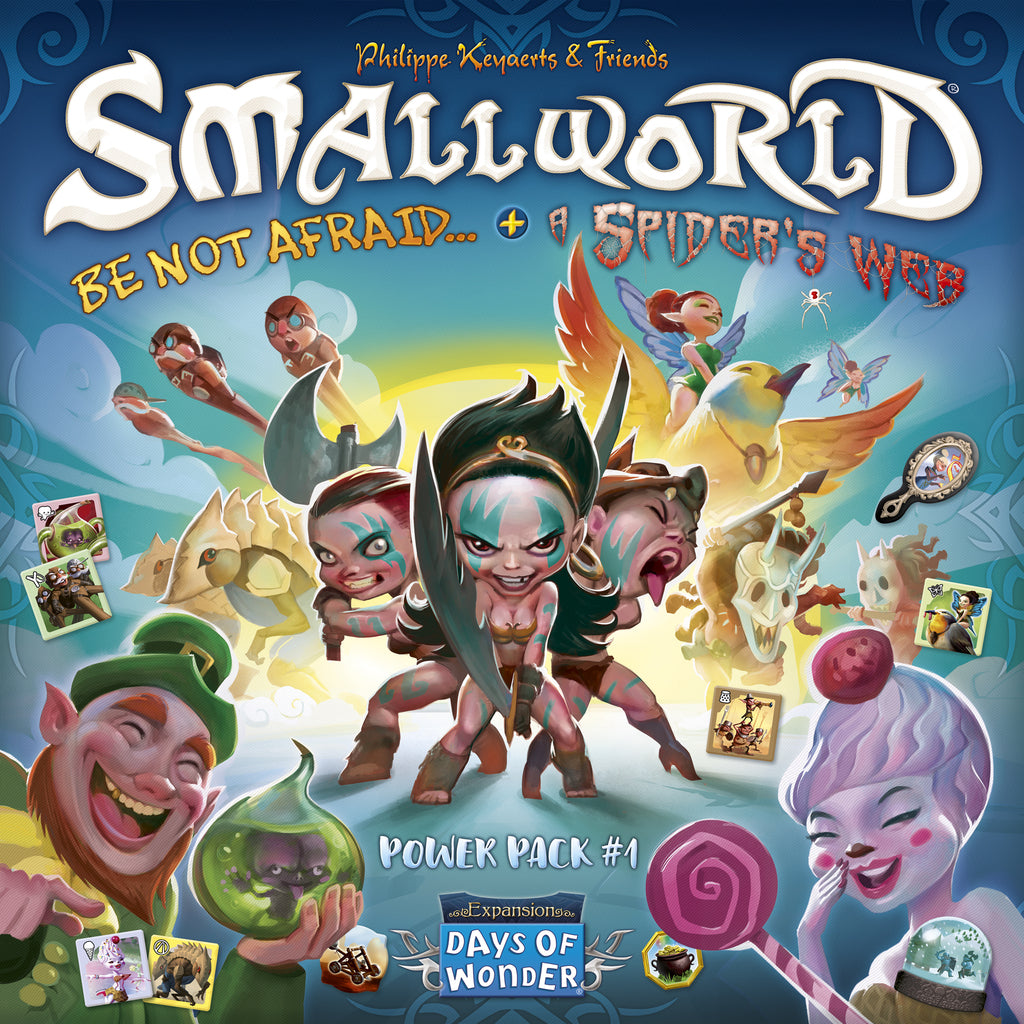 Small World - Race Collection: Be Not Afraid & A Spider Web