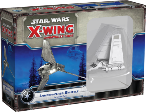 Star Wars: X-Wing - Lambda-Class Shuttle (Imperial)