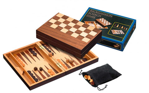 Chess, Backgammon, Checkers Set (32mm)
