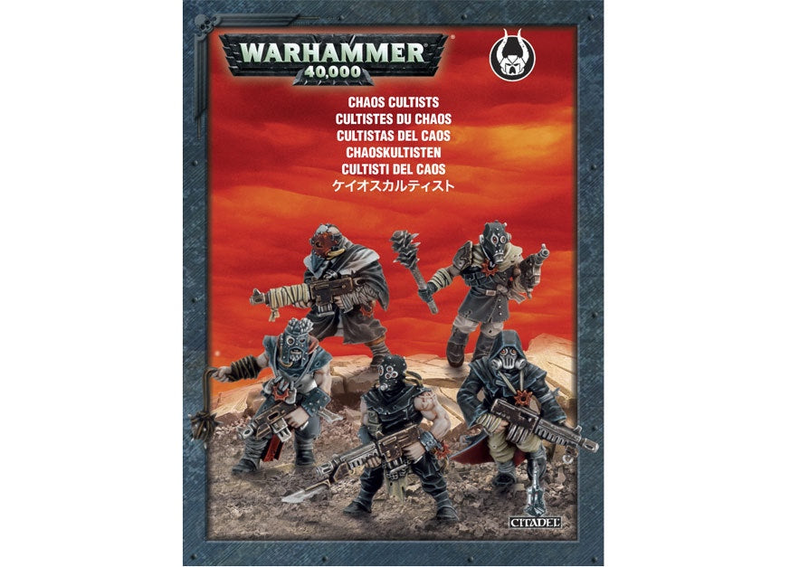WH 40K: Chaos Space Marines - Chaos Cultists