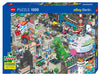Jigsaw Puzzle: HEYE - eBoy Berlin Quest (1000 Pieces)