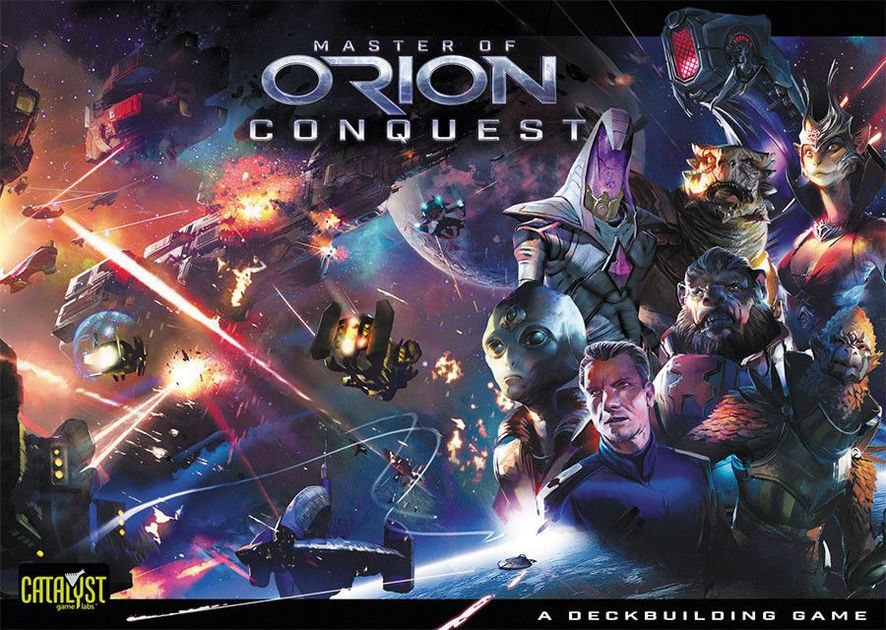 Master of Orion: Conquest DBG