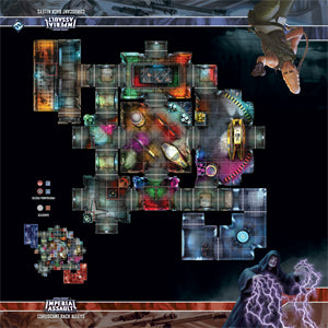 Star Wars: Imperial Assault - Gamemat - Coruscant Back Alleys