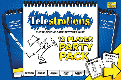 Telestrations: 12 Party Pack