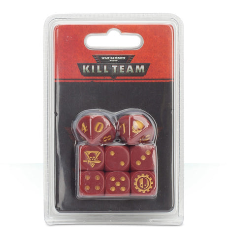 WH 40K: Kill Team - Adeptus Mechanicus Dice Set