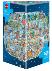 Jigsaw Puzzle: HEYE - Spaceship (1500 Pieces)