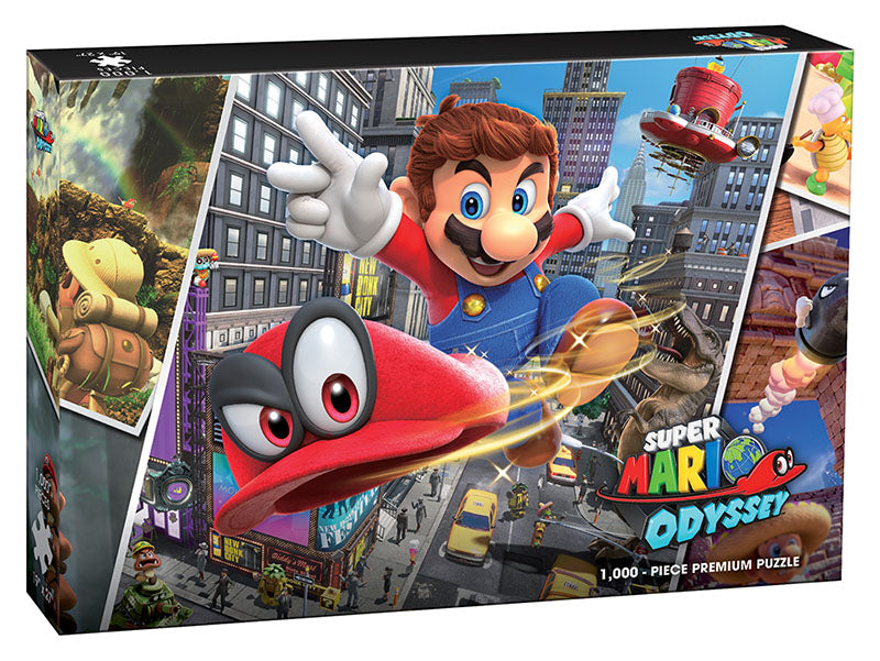 Jigsaw Puzzle: The OP - Mario (1000 Pieces)