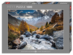 Jigsaw Puzzle: HEYE - Mountain Stream (1000 Pieces)