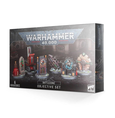 WH 40K: Battlezone - Objective Set