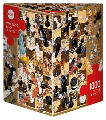 Jigsaw Puzzle: HEYE - Black or White (1000 Pieces)