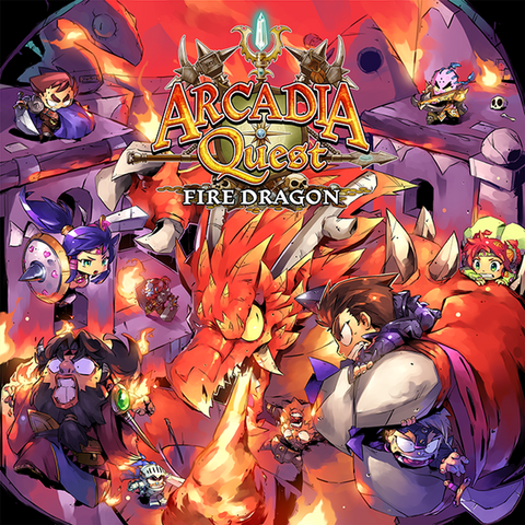 Arcadia Quest: Fire Dragon