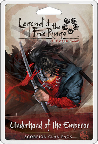 L5R LCG: Expansion 14 - Underhand of the Emperor Clan Expansion