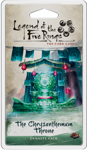 L5R LCG: Pack 04 - The Chrysanthemum Throne