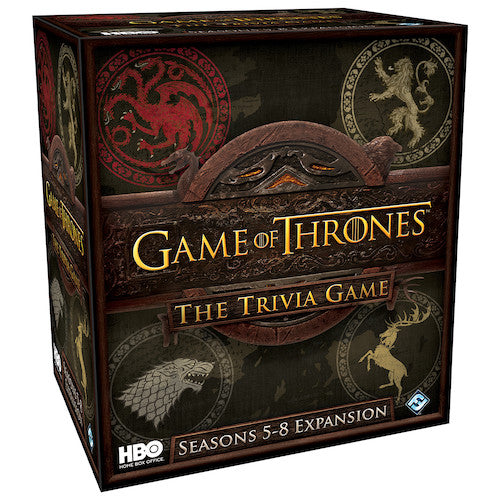 Game of Thrones: Trivia Game (HBO) - Seasons 5-8 Expansion