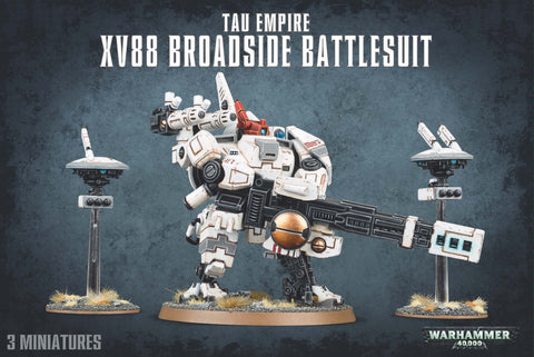 Warhammer 40K: T'au Empire  - XV88 Broadside Battlesuits