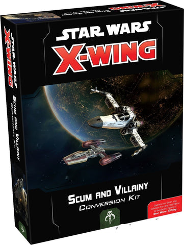 Star Wars - X-Wing 2nd Ed: Scum & Villainy Conversion Kit