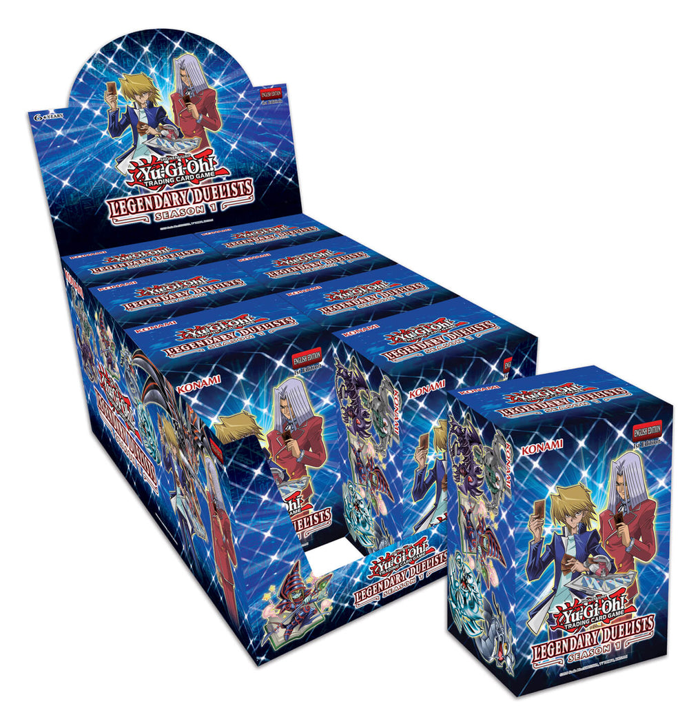 Yu-Gi-Oh! TCG: Legendary Duelist: Season 1 (8x Display)
