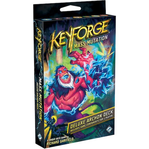 KeyForge: Mass Mutation - Deluxe Deck