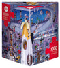 Jigsaw Puzzle: HEYE - Oesterle Rocket Launch (1000 Pieces)