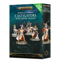 WH AoS: Stormcast Eternals - Castigators with Gryph Hound (Easy to Build)