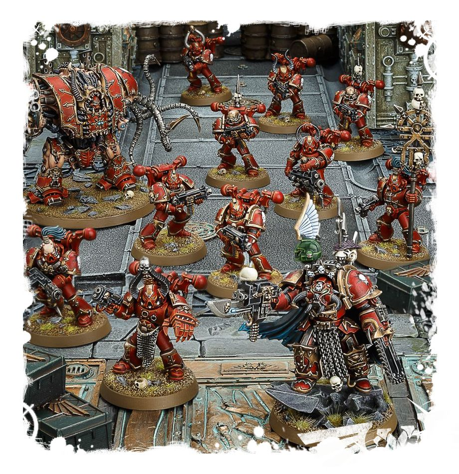 WH 40K: Chaos Space Marines - Start Collecting!