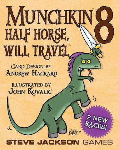 Munchkin: Vol 08 - Half Horse Will Travel