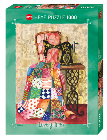 Jigsaw Puzzle: HEYE - Lovely Times Quilt (1000 Pieces)