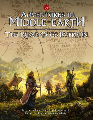 LOTR RPG: Adventures in Middle Earth - The Road Goes Ever On