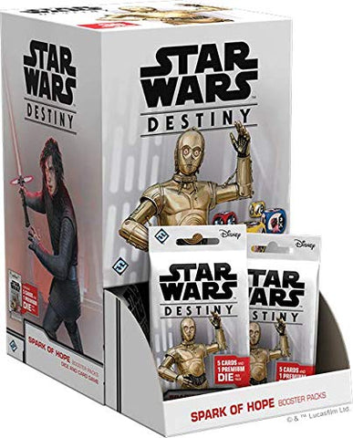 Star Wars: Destiny - Spark of Hope Booster (Display)