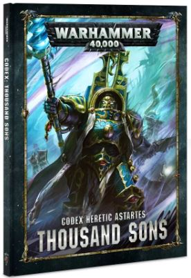 WH 40K: Thousand Sons Codex