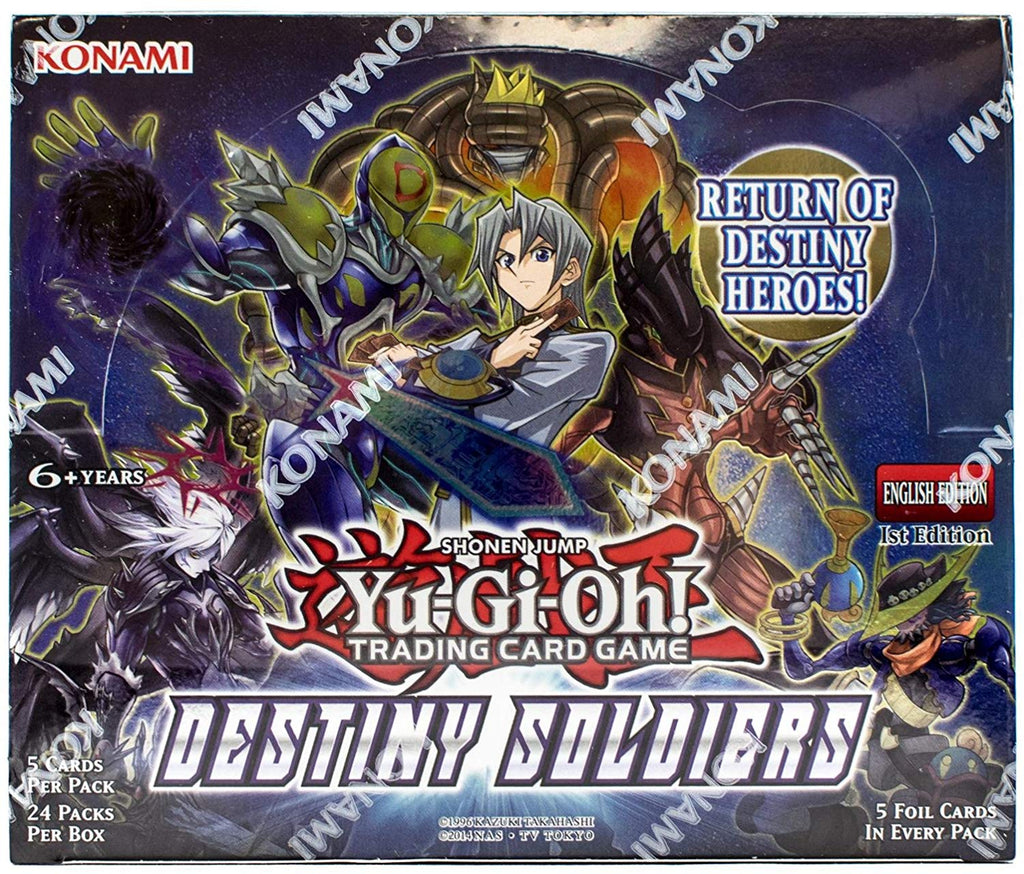 Yu-Gi-Oh! TCG: Destiny Soldiers 1st Edition Booster (24x Display)