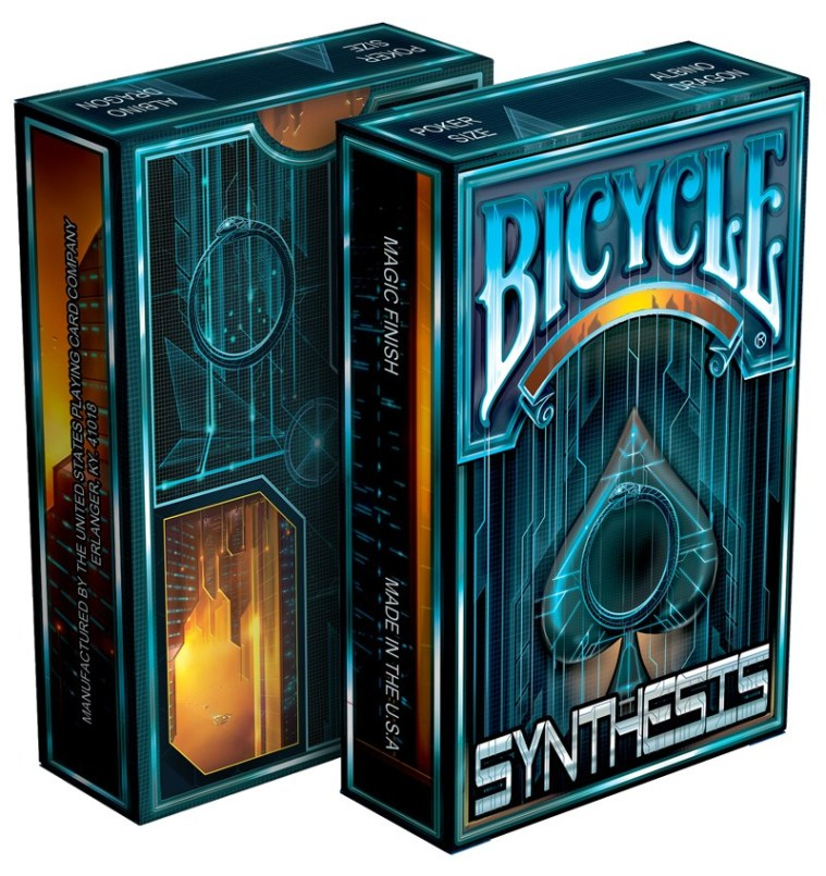 Playing Cards: Albino - Synthesis - Blue