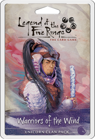 L5R LCG: Expansion 16 - Warriors of the Wind Clan Expansion