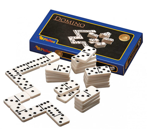 Domino: Philos - Double 6, Plastic, 200 mm